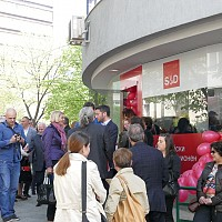 "Момчил Неков и колегите му от левицата откриха офис на евромрежа ""Солидарност"" в Благоевград"
