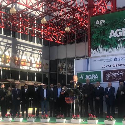 Момчил Неков взе участие в откриването на най-голямото земеделско изложение АГРА 2019 в Пловдив