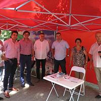 Кандидатите за кметове на БСП в област Стара Загора се срещнаха с Момчил Неков