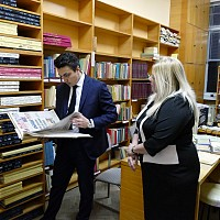 Nekov pronounced library champion in Siistra