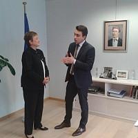 Неков се срещна с комисар Георгиева, за да й предостави допълнителна информация за щетите, която е събрал чрез областните управители и кметовете на 58 общини.